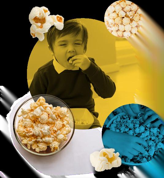 Popcorn for schools