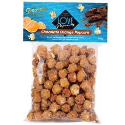 Chocolate Orange Gourmet Popcorn