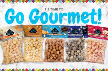 Love Popcorn gourmet range