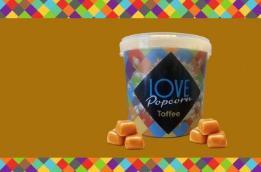 Love Popcorn toffee 750g tub