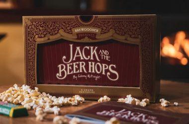 Beer Hops pantomime box